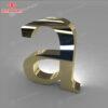 chữ inox vàng gương